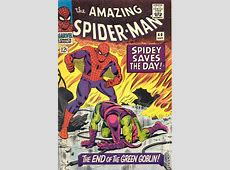 Amazing SpiderMan comic books issue 40 1966