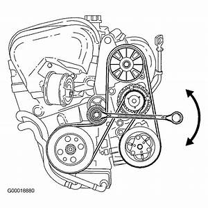 2000 Volvo S40 Serpentine Belt Routing And Timing Belt