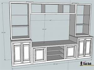Remodelaholic Pottery Barn Media Center Building Plans