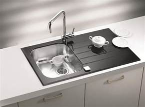 kitchen sinks and faucets designs black kitchen sinks countertops and faucets 25 ideas adding black accents to modern kitchens