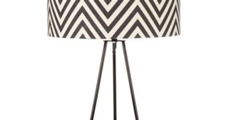 Betty Jackson.black Black Zig Zag Patterned Lamp- At Led Work Light Clearance Fixtures Pilot Lights Stairway Oil Rubbed Bronze Flush Mount Used Lighting Night Rider Bike Carriage