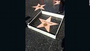 Tiny wall built around Donald Trump's Hollywood Star ...