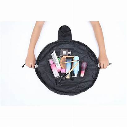Drawstrings Toiletry Traveling Cosmetic Organizer Pouch Carry
