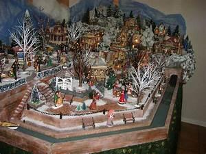 Village De Noel Miniature : nice village miniature de noel 4 village miniature de no l 2012 dept56 luville fait par ~ Teatrodelosmanantiales.com Idées de Décoration