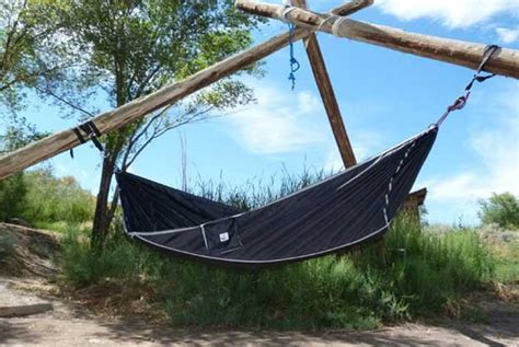 flat  hammock bed offers sleepers  support psfk