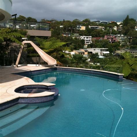 Water Slides For Home Swimming Pools  Backyard Design Ideas