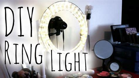 diy easy cheap diva ring light step  step tutorial makeup mira diy projects