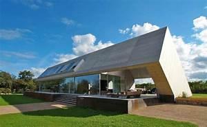 Haus Mit Satteldach 25 Grad : modernes holzhaus pultdach ~ Lizthompson.info Haus und Dekorationen