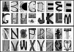 review classic black white alphabet photography art With letter art photography free