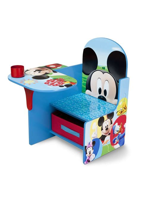 chair desk with storage bin mickey mouse chair desk with storage bin