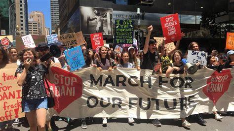 Thousands march against Adani coal mine   Hawkesbury ...