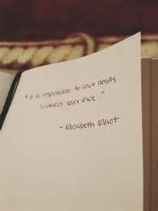 Elisabeth Elliot Quotes On Love