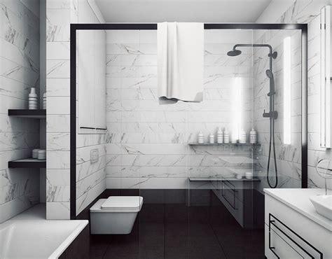 salle de bain en marbre moderne en 40 id 233 es fra 238 ches et tendance