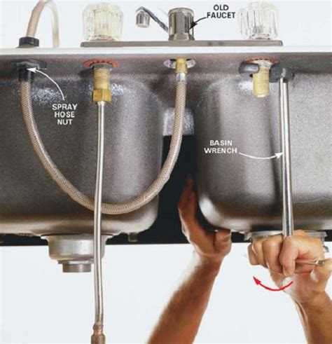 changing a kitchen sink faucet tips to install kitchen faucets home decor report 8128