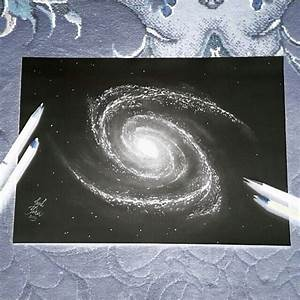 drawing space galaxy painting on Instagram