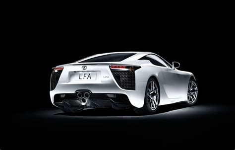 Wallpaper Lexus, White, Lfa, Sports Car Images For Desktop