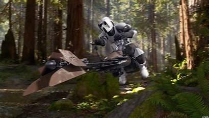 Scout Trooper Endor Sk Studios Deviantart Background