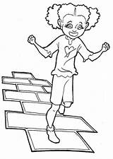 Hopscotch Coloring Pages Printable sketch template