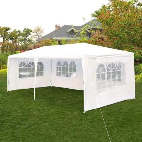 ktaxon  ft party tent outdoor heavy duty gazebo wedding canopy white walmartcom