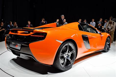 Mclaren Blows The Top On New 650s Spider