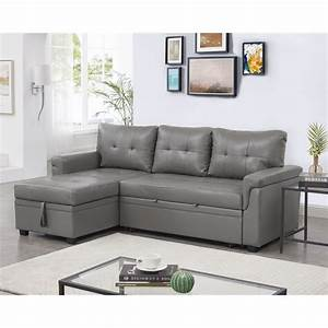 Laura, Reversible, Sleeper, Sectional, Sofa, Storage, Chaise, By, Naomi, Home