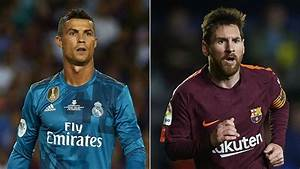 Real Madrid V Barcelona Ronaldo And Messi39s Head To Head