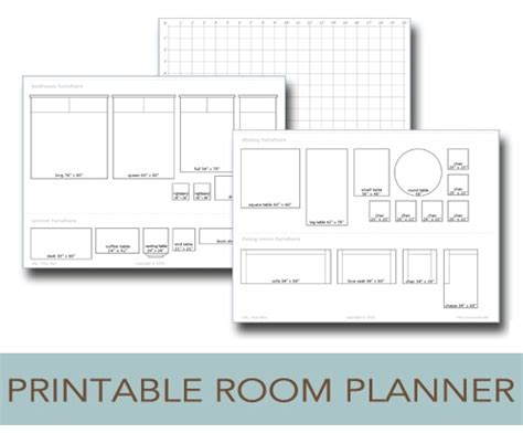 Room Planner by Printable Room Planner To Help You Plan Your Layout