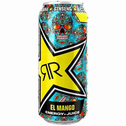 Rockstar Mango Baja Energy Drink Juiced 500ml