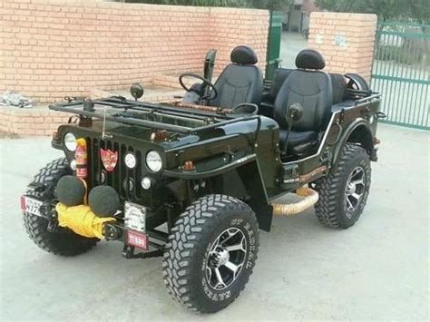 open modified willy jeep  punjab  rs