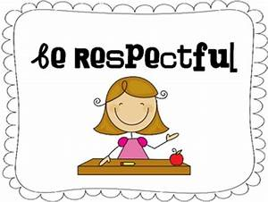 Be Respectful Clipart