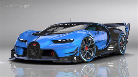 bugatti vision gran turismo show car revealed  frankfurt