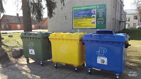Atkritumu apsaimniekošanas maksas izmaiņas Jēkabpilī