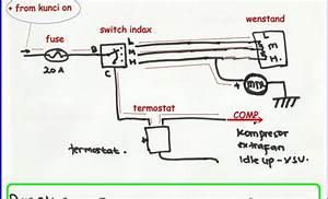 Simple Capacitor Wiring Diagram Ac Air Compressor