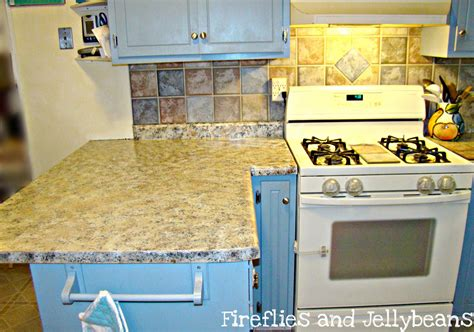 Fireflies And Jellybeans New Counter Tops For A New Year
