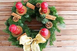 Adventskranz Selbst Binden : nicoles adventskranz adventskranz binden einfach erkl rt diy weihnachtsdeko cheznu tv ~ Markanthonyermac.com Haus und Dekorationen