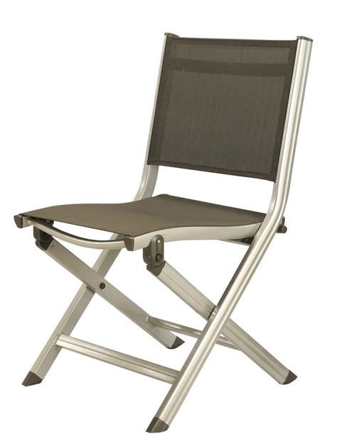 Marine Grade Aluminum Folding Chair