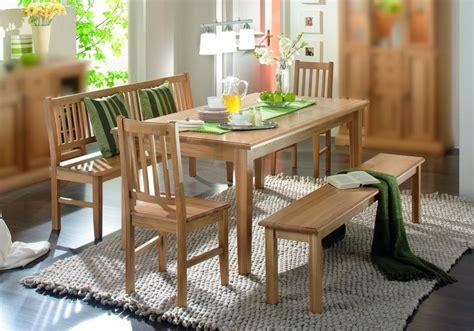 Essgruppe Esszimmergruppe Tisch Bank Stühle Esszimmer