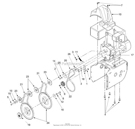 V Engine Diagram by Mtd 31ae558g099 247 888540 2000 Parts Diagram For