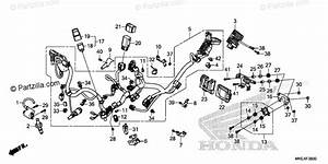 Honda Motorcycle 2019 Oem Parts Diagram For Wire Harness