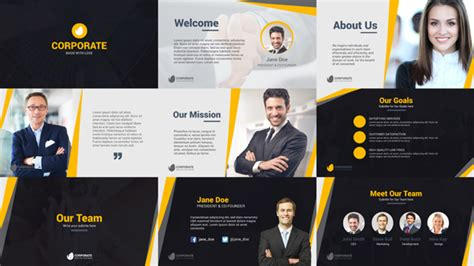Corporate Business Company Profile  After Effects