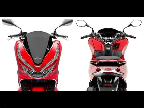 Pcx 2018 Photo by 2018 New Honda Pcx125 Europe Studio Photos Technical