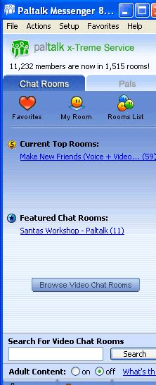 With voice, video and text chat, paltalk can make sure you are seen and heard. Paltalk Chat 8.2 - free download for Windows