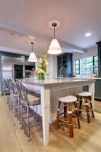 Kitchen Island Design With Seating Kitchen Butcher Block Islands With Seating Cabin Staircase Farmhouse Medium Specialty