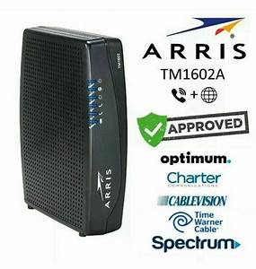 Arris Tg1672g Touchstone Cable Modem - Tested