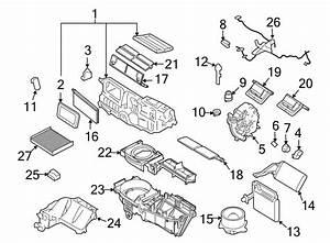 Mercury Milan Hvac Blower Motor  Air  Heater  Conditioner