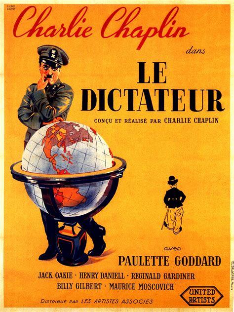 le dictateur  great dictator