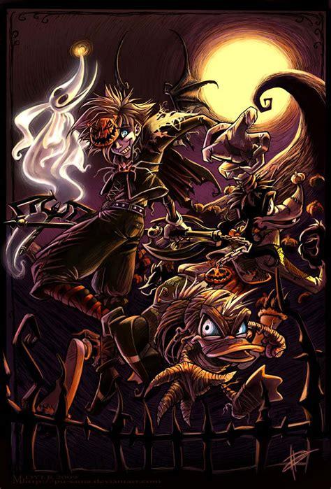 Kingdom Hearts Fan Art By Pu Sama