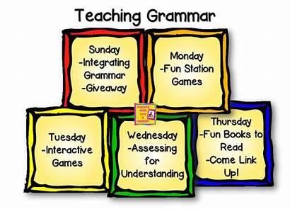 Grammar Teaching Games Fun Giveaway Laughter Workshop