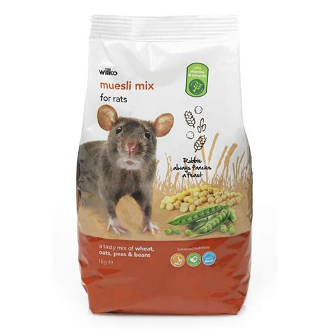 rat cuisine wilko hamster food muesli mix 1kg