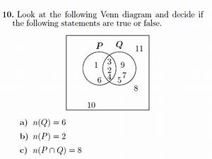 Sets And Venn Diagrams Worksheet  With Solutions  By Math